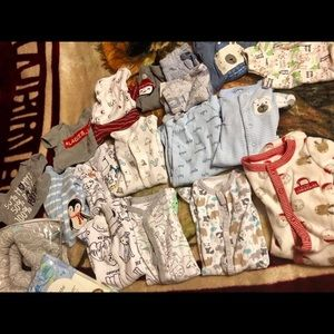 Gently used baby clothes